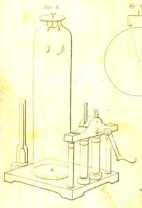 真空落下試験器(ブレイク『自然哲学対話』(1831))