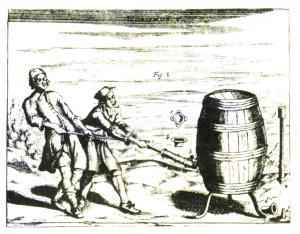 ゲーリケが最初に作ったとされるポンプ