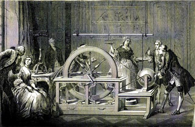 ホークスビーの静電気実験